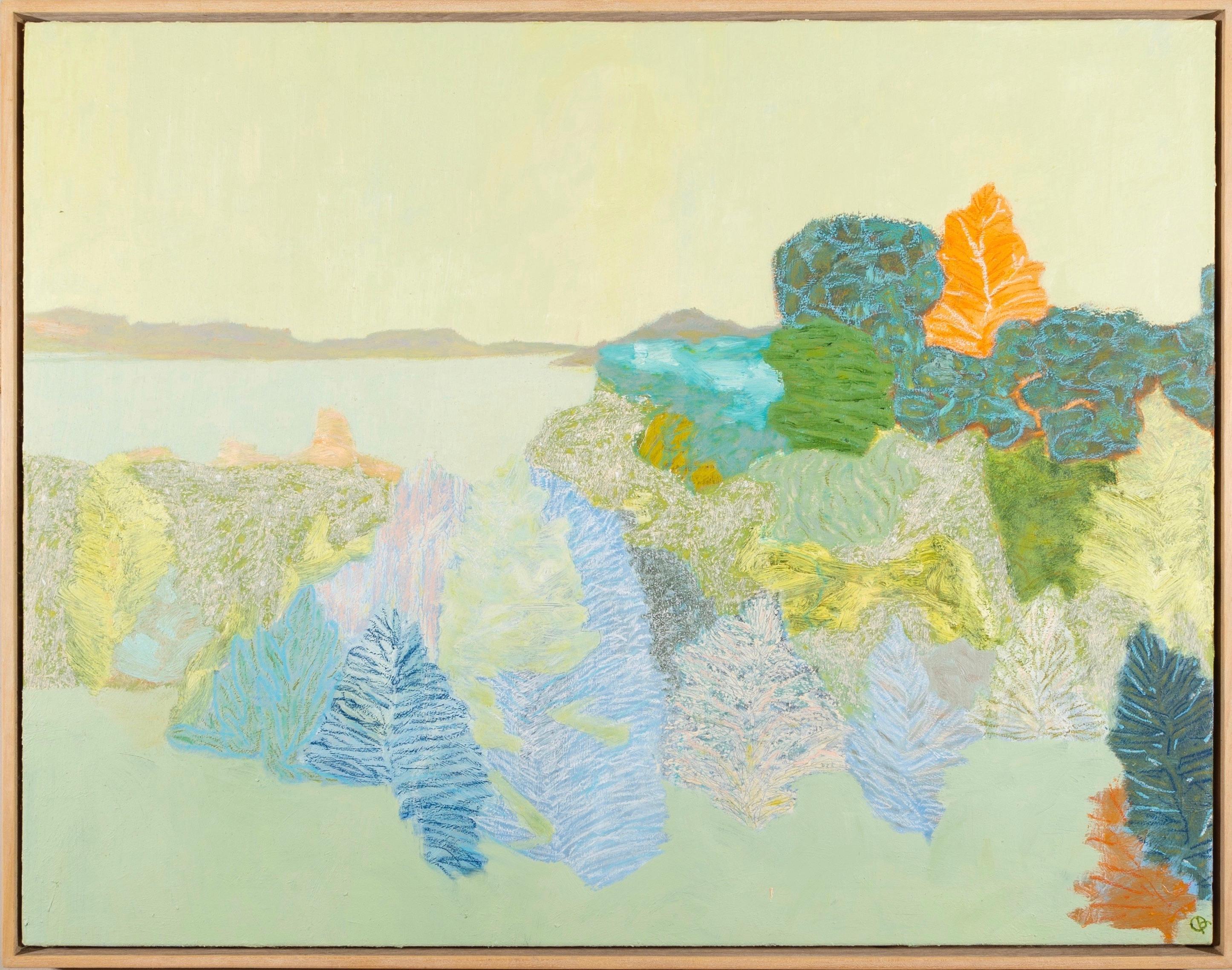 Richard Ballinger Sea Shelter landscape oil painting 2017-18