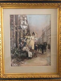 Scene de Rue de Paris