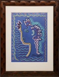 Jean Cocteau Blue Orpheus