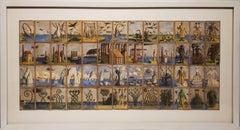 Nicholas Kahn & Richard Selesnick Eisbergfreistadt Panoramiche Spielkarte 1923