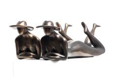 Anita Birkenfeld, Elegance, sunbathing women, women sculptures