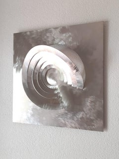 Universe , 2,  Wall sculpture, Stainless steel