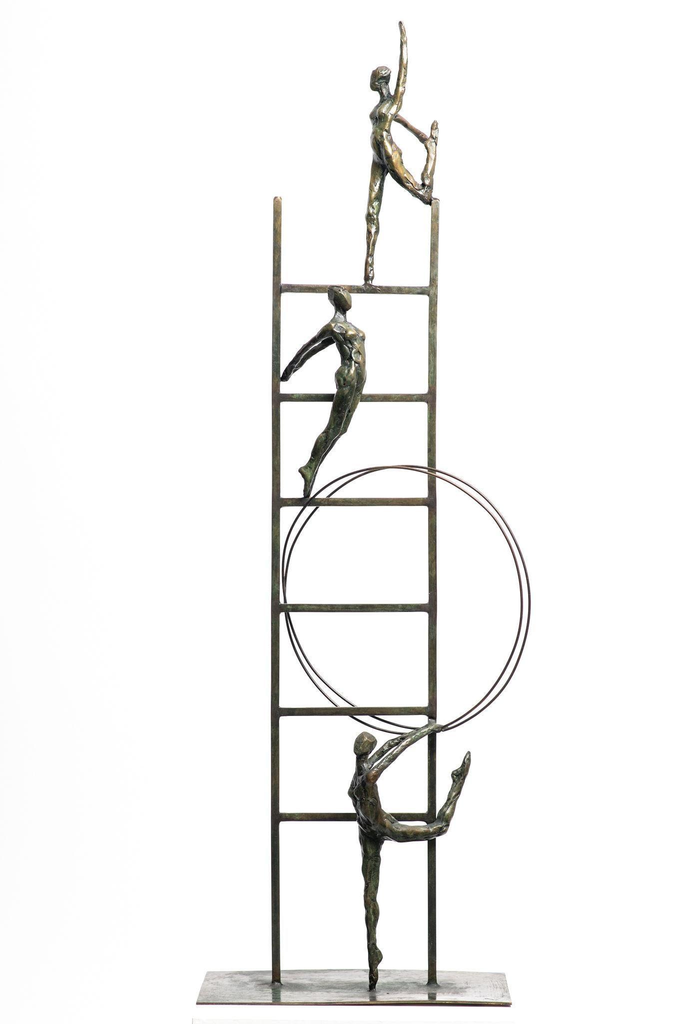 Liliane Danino, ladder for all, Elevation, Bronze Sculpture