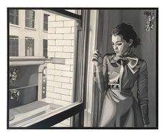 Mihal Schtibel, Steffy, Oil on canvas