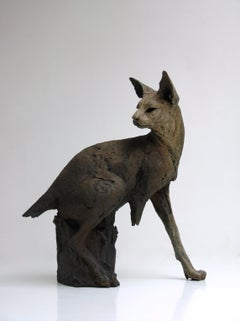 ''Bastet'', Contemporary Bronze Sculpture Portrait of a Egyptian Cat, Bastet