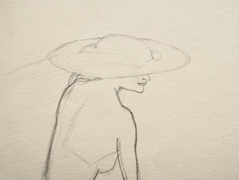 Profile of a Woman - Study For Sale 1