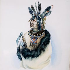Four Portraits of Native Americans INVENTORY CLEARANCE SALE