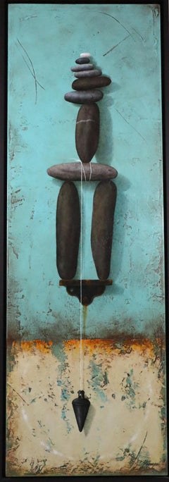 Balancing Act realist painting by Brad Stroman INVENTORY CLEARANCE SALE