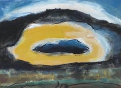 "Arthur Dove ""Sun"" Original Watercolor Circa 1940"