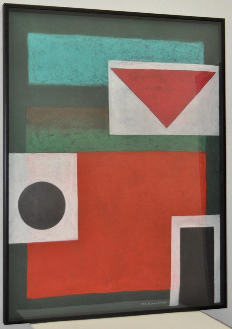 Henry Elinson Abstract Painting - Gongo