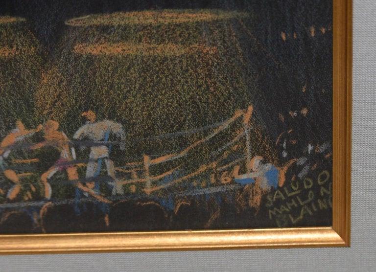 Saludo - Impressionist Art by Mahlon Blaine