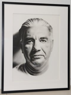 "Heidi McFall (American, 20th century) ""Tony #1"" Original Pastel Portrait c.2000"