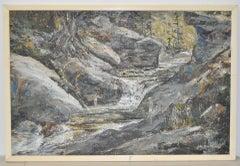 "John Loren Head ""The Swimming Hole"" Impressionist Oil Pain"