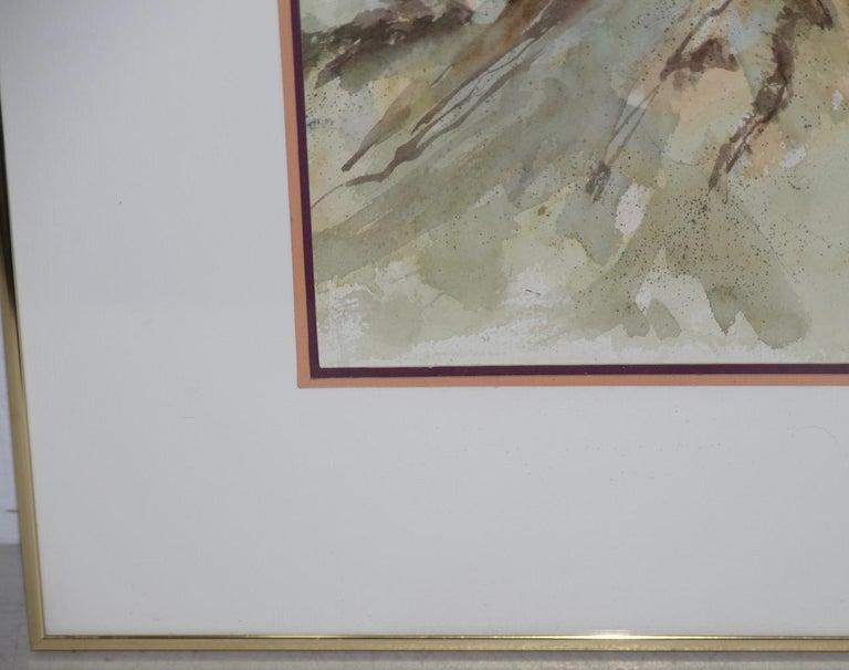 Jake Lee (1915-1991) Original Watercolor