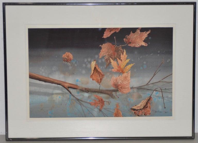 "Will Maller '20th Century' ""Spring Wake-Up"" Original Watercolor, circa 1987 - Art by Will Maller"