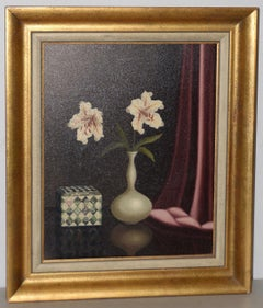 Tilly Moes (1899-1979) Still Life w/ Lilies c.1950