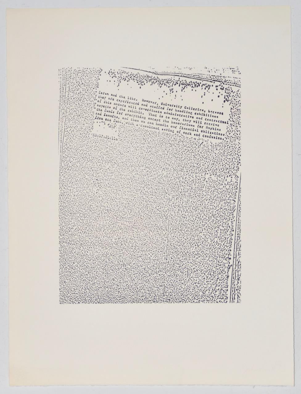 """John Link (American, b.1942) """"Untitled"""" Limited Edition Lithograph c.1973"""