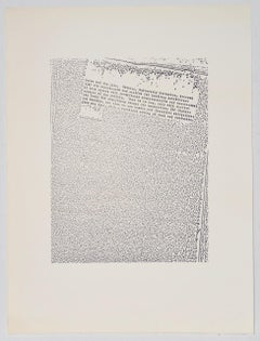 "John Link (American, b.1942) ""Untitled"" Limited Edition Lithograph c.1973"