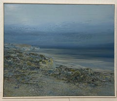 "Edward Bock ""Drakes Estero"" Original Oil Painting C.1970"