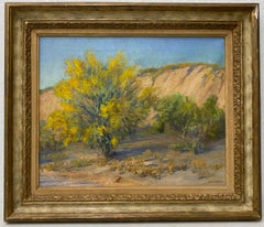 "Stella McLennan Roca ""Southwest Landscape"" Original Oil Painting C.1930s"