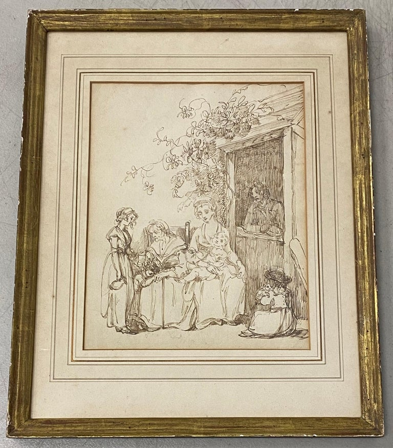 18th to 19th Century Pen and Ink Drawing - Art by Unknown
