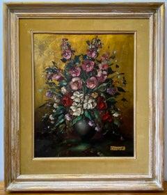 Oskar Knapp (1914-1987) Floral Still Life C.1950
