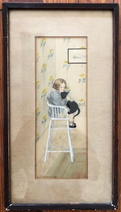 """Charles Wilkinson 1908 """"The Naughty Chair"""""""