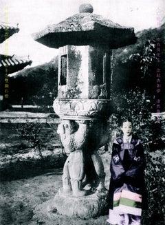 'Stone Pagoda Beauty', Unique contemporary Digital C Print
