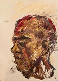 """Men in profile"" By Masri"