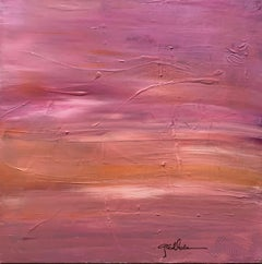 """Purple and pink "" Acrylic on canvas"
