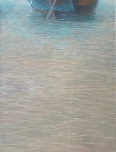 'Rowing boat in the ocean' by Barry Masteller