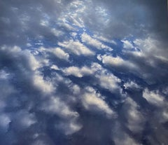 """""""Cloudy sky"""" Photography on Canvas One of a Kind"""