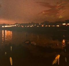 """Monterey Bay"" Photography & Acrylic on Canvas"