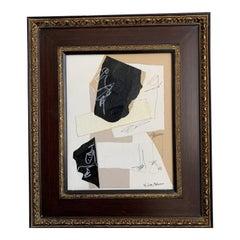 Collage in Vintage Frame