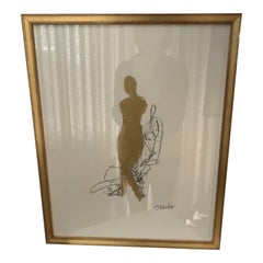 Nude Charcoals Framed Signed