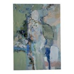 Reine De Fleurs Oil Painting Signed
