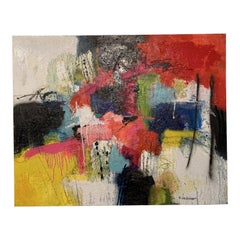 Modern Abstract Painting on Canvas