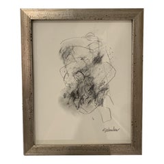 Framed Charcoal by Stephanie Wheeler