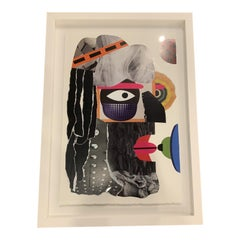 Framed Contemporary Collage