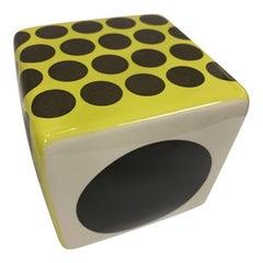 Contemporary Ceramic Wall Cube