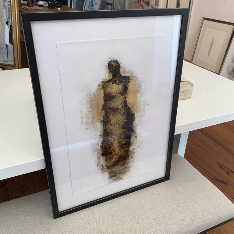 Figure with Gold Leaf by Tracy Sharp  For Sale 2