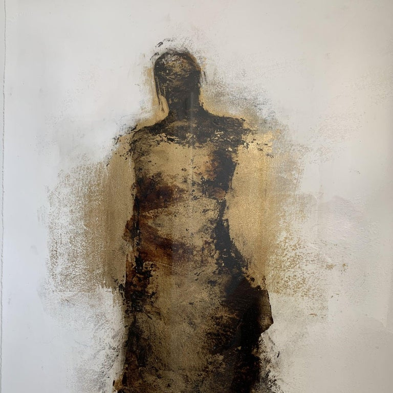 Figure with Gold Leaf by Tracy Sharp  For Sale 3