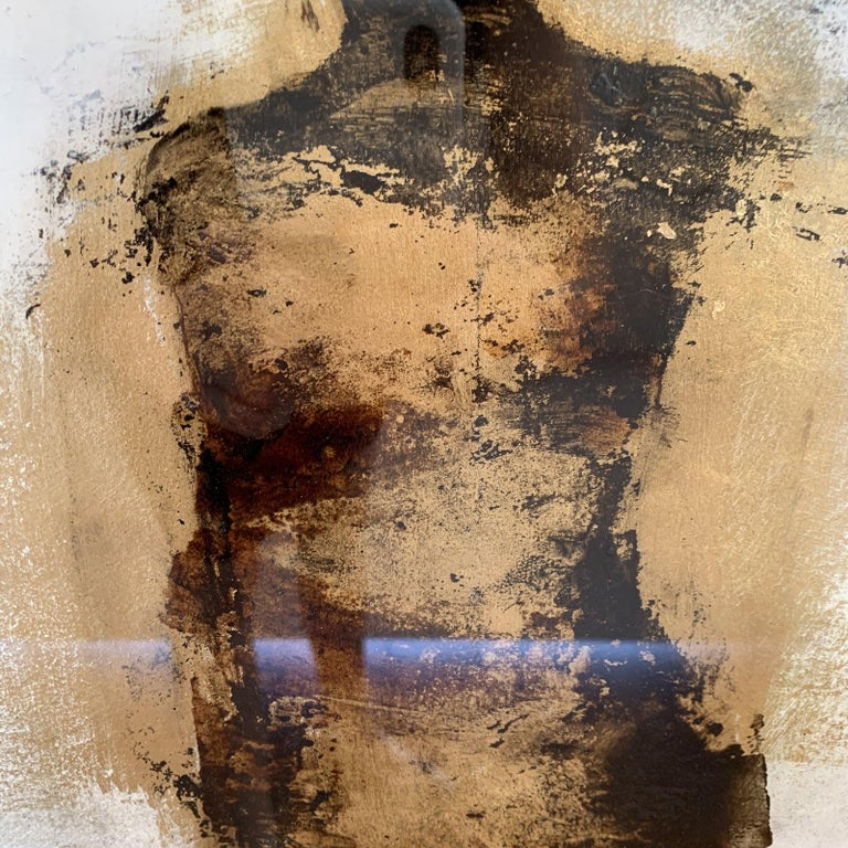 Figure with Gold Leaf by Tracy Sharp  For Sale 5