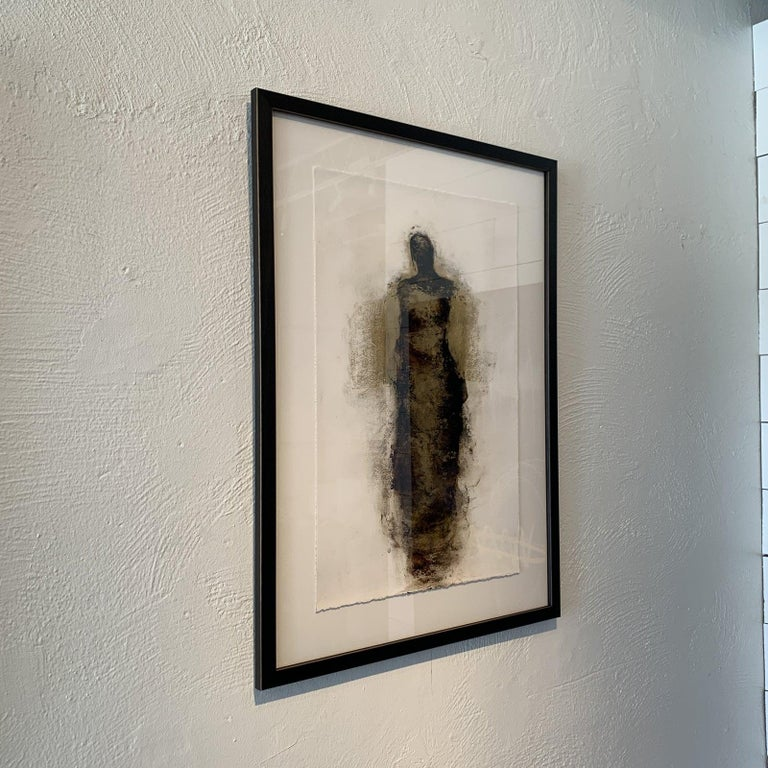 Figure with Gold Leaf by Tracy Sharp  For Sale 10