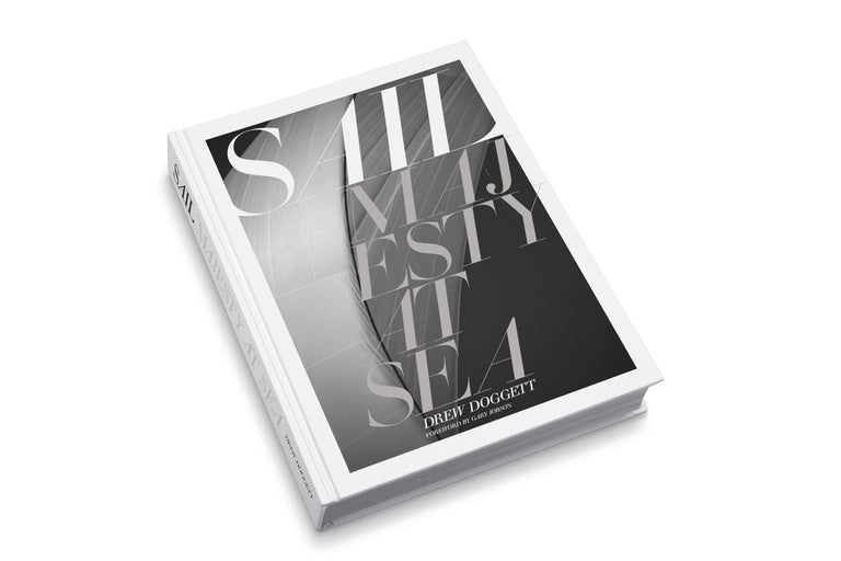 NOTE ON AVAILABILITY  There is a limited number of signed copies of this award winning book left.  Sail: Majesty at Sea is an intimate look into the world of rare, J-Class and 12-Meter racing sailboats and their enduring beauty, power and speed as