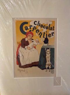 """""""Chocolat Carpentier"""" from """"Les Maitres de l'Affiche"""" series"""