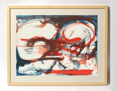 Toma Yovanovich Mid Century Abstract Colorful Watercolor Synesthesia 1960