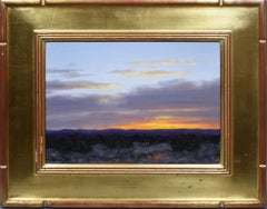American Impressionist Sunset Landscape Taos New Mexico Oil Painting Stephen Day
