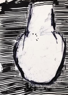 Uphill - Abstract Painting, 21thC, Contemporary Art, Minimalistic, Monochrome