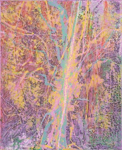 Tree #2 - Abstract Art, Modern Art, Contemporary, 21thC, Oil Paint, Forest